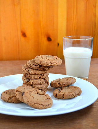 Double Choco Chips Cookies