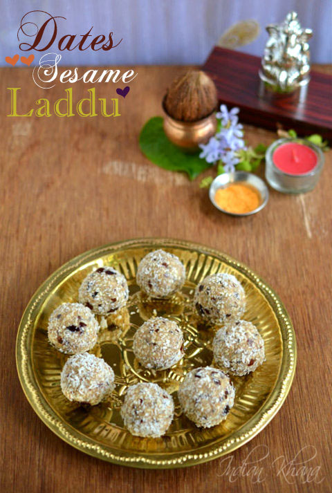 Dates-Sesame-Ladoo-Diwali-Sweet-recipe