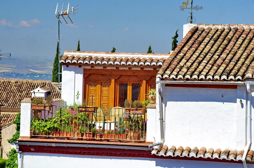 Grenade - Granada 477 El Albaicin, Carmen-Museo Max Moreau, Camino Nuevo de San Nicolás