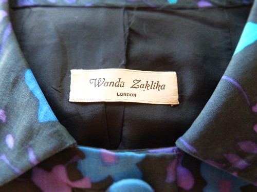 Wanda Zaklika London 1960s dress