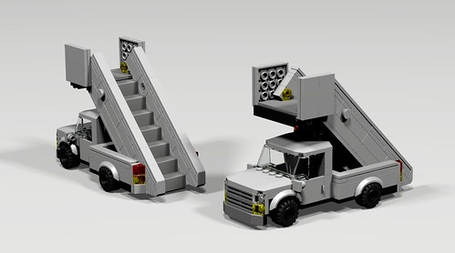 Ph-150 Passenger Stair Truck