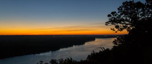 sunrise river iowa september mississippiriver dubuque mountcarmel sdgiere