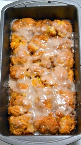 easy to make pumpkin monkey bread