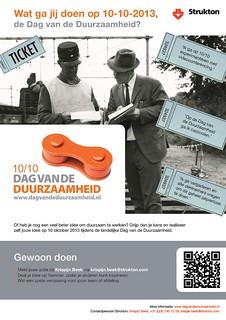 Poster dag van de duurzaamheid 2013