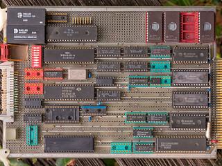 65c802 single board computer, circa 1980