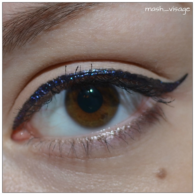 Make Up For Ever Aqua Liner  7 Diamond Black Purple