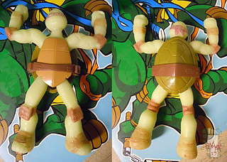 WICKED COOL TOYS :: Nickelodeon TEENAGE MUTANT NINJA TURTLES; 'WATER GROW TURTLES' - DONATELLO xi (( 2013 ))
