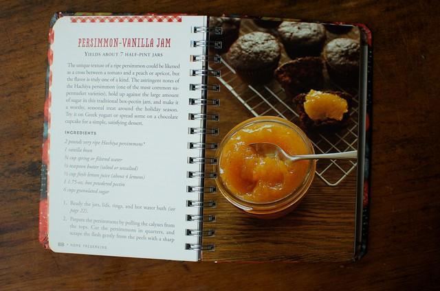 Persimmon-Vanilla Jam