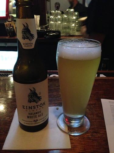 Icelandic beer in San Jose