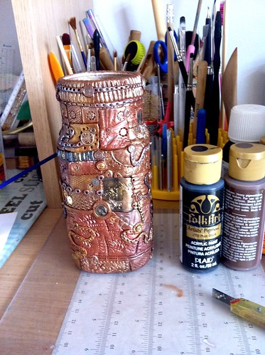 'Steampunk' glass jare