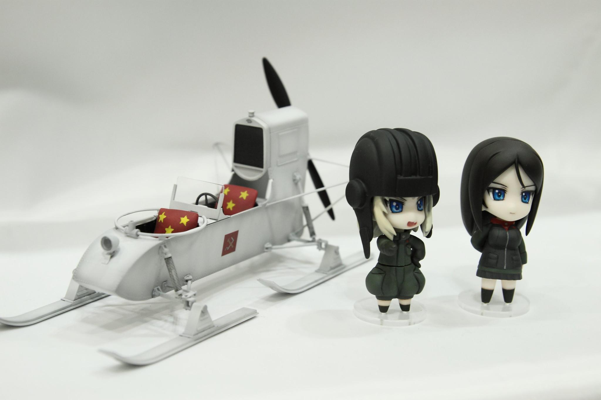 青銅CIRCUS プラウダセット&RF-8