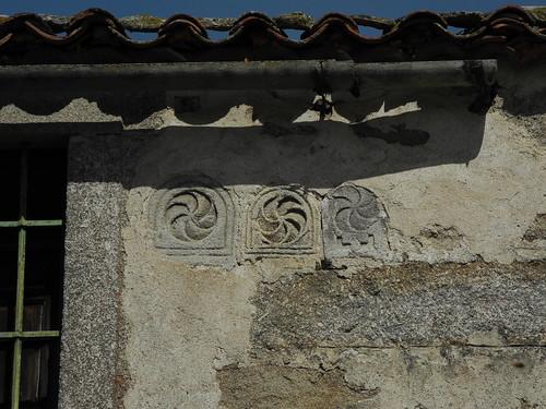 Estelas romanas en Moral de Sayago