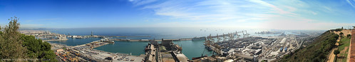 Barcelona Port Panoramic