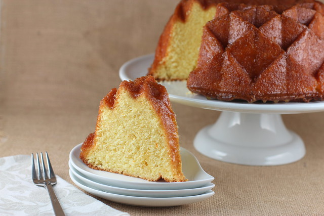 Orange Marmalade Jubilee Bundt Cake