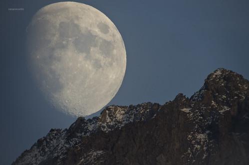 La scalata della luna!