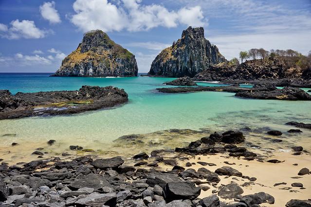 Praia da Baía dos Porcos - Fernando de Noronha - PE - Brasil