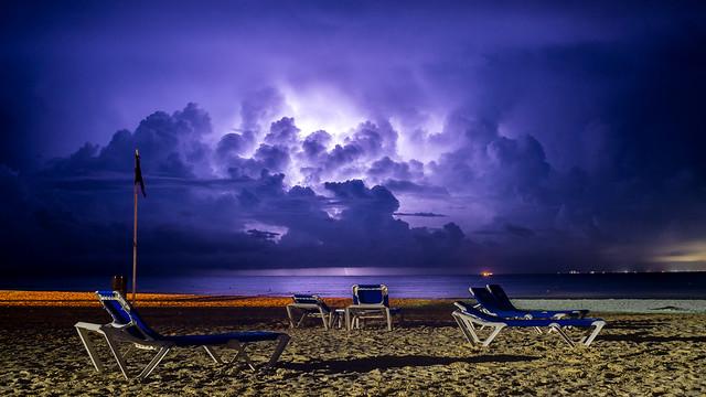 Cozumel Thunderstorm