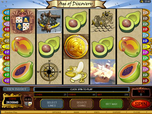 Age of Discovery Slot Machine