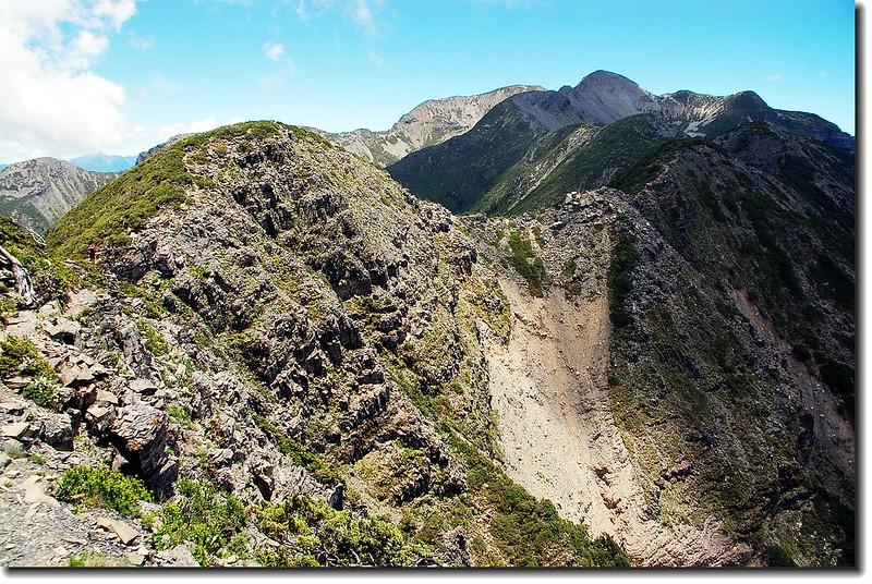 雪山聖稜線 4