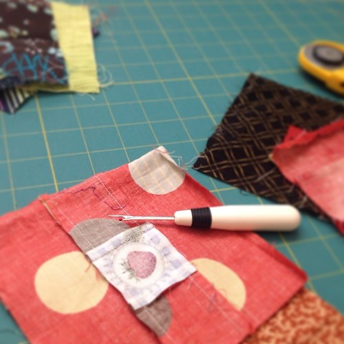 It's been a long time, but I am working in my sewing room again.