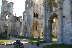 Transept at Jumièges Abbey