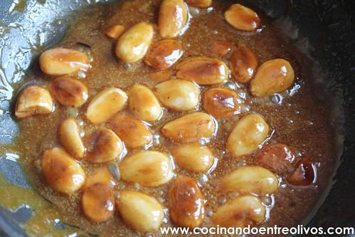 Pollo almendrado con miel www.cocinandoentreolivos (14)