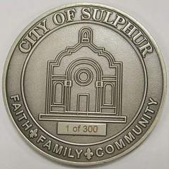 Sulphur Centennial reverse