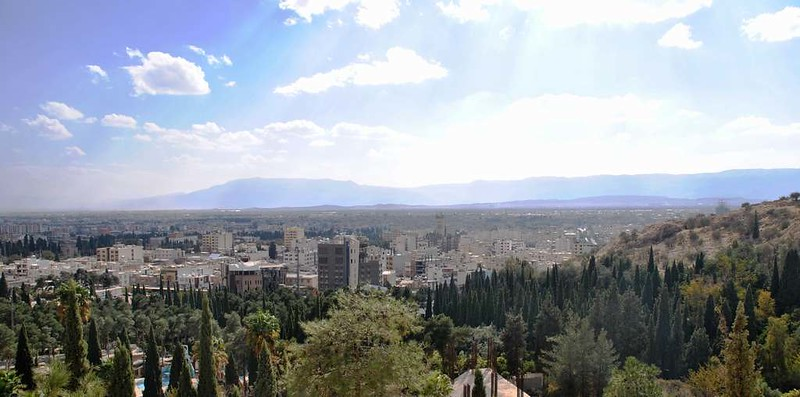 07 Vistas de Shiraz