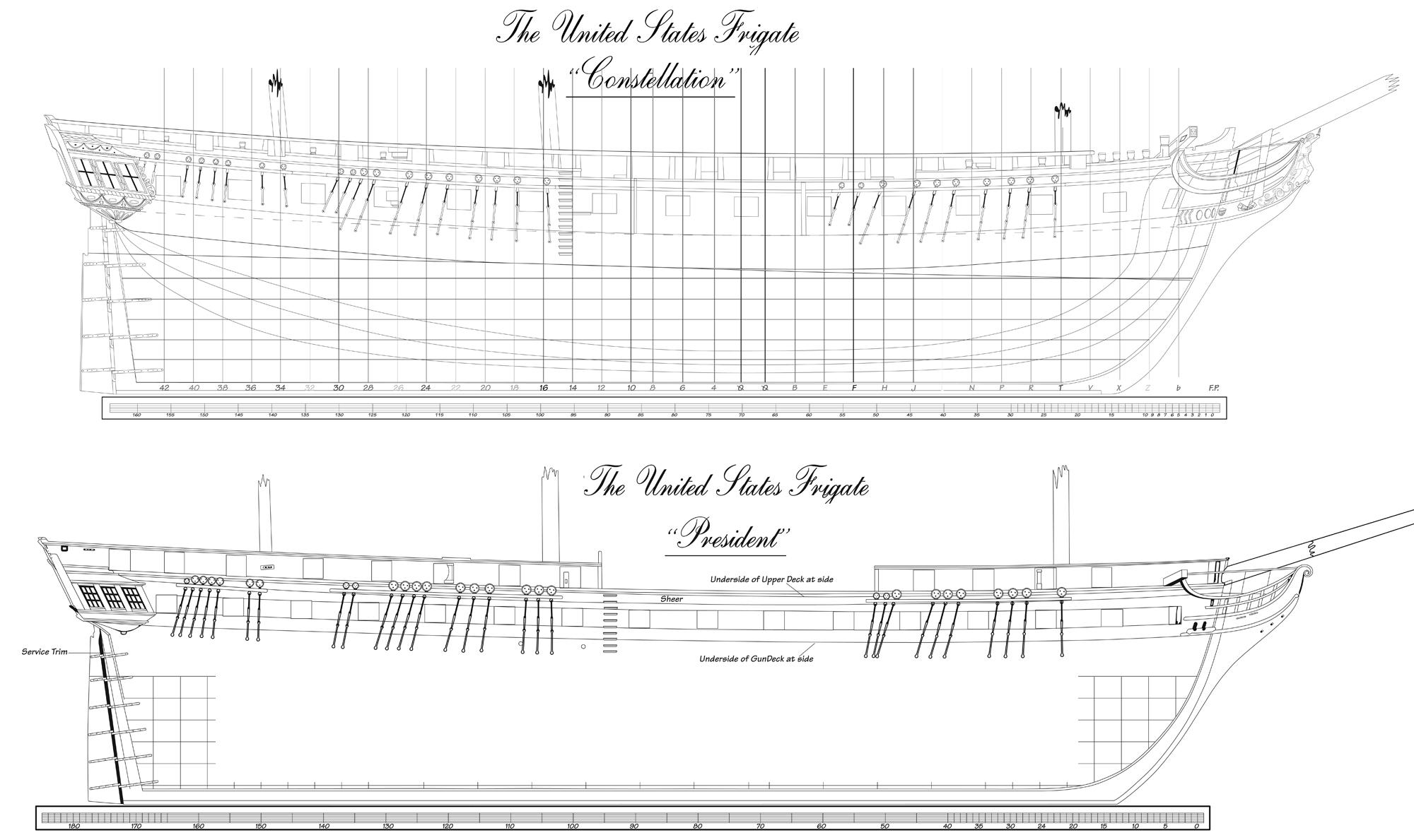 Sailing Frigate Deck Plan | www.imgkid.com - The Image Kid ...