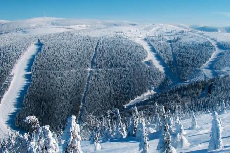 Červenohorské sedlo - 100 let lyžování vkouzelné horské krajině