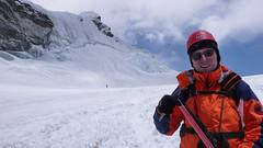 Przejście lodowca pod Island Peak 6189m