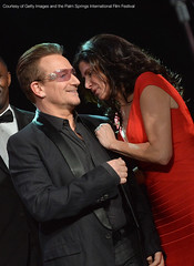 Bono and Mary Bono at PSIFF