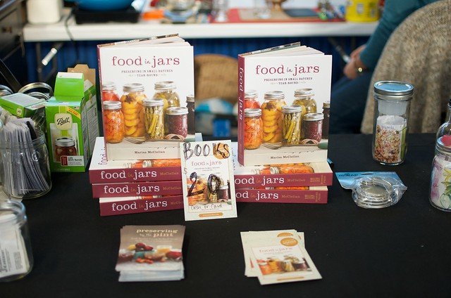 Food in Jars at the Farm Show