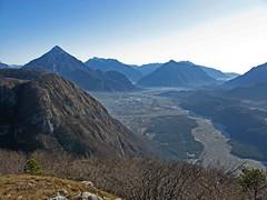 Foto per 6. La bella panoramica sulla Val Tagliamento dalla cima del Cretis