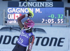 Gagnon speeds her way to a first place super combined finish in Altenmarkt, AUT