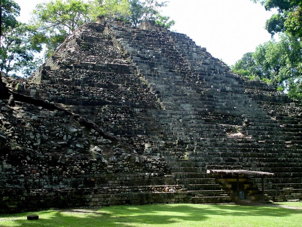 7. Pirámide maya. Autor, Mike Fox