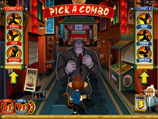 Kung Fu Monkey Bonus Game