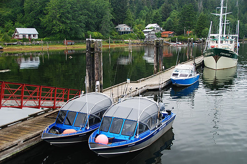 Winter Harbour, Quatsino Sound, Vancouver Island, British Columbia, Canada