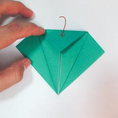 สอนวิธีการพับกระดาษเป็นรูปปลาฉลาม (Origami Shark) 008