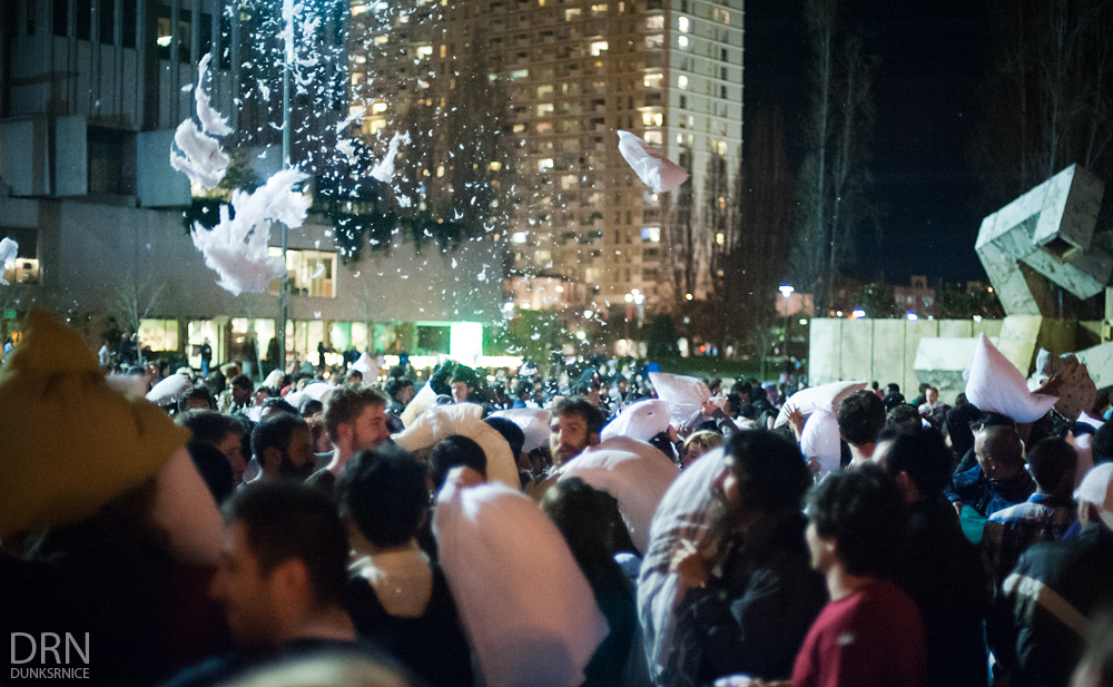 2014 SF Pillow Fight.