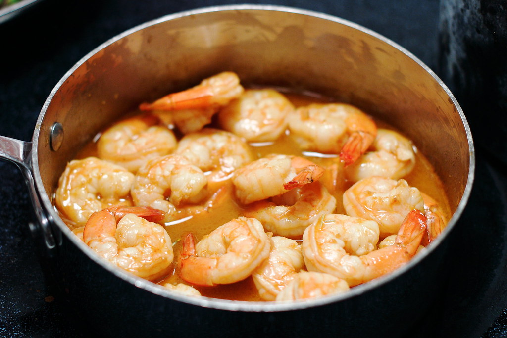 Sunday Dinner: New Orleans BBQ Shrimp and Zydeco Beans with Brabant Potatoes + a Giveaway!