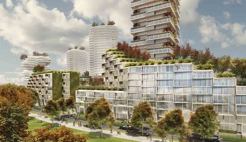 Oakridge redevelopment - concept rendering - 2013