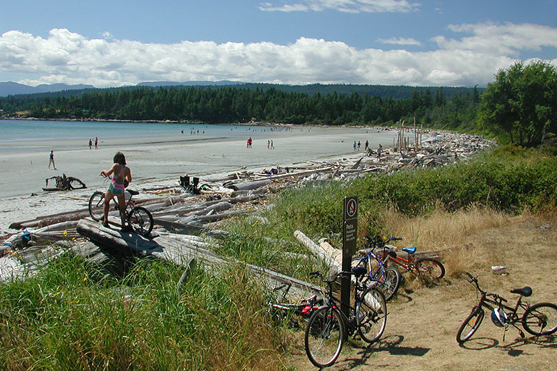 Tribune Bay Provincial Park, Hornby Island, Gulf Islands National Park, British Columbia, Canada