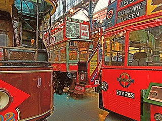 London Transport Museum. Trolley Bus, Motor Bus & Tram. 27 5 2013