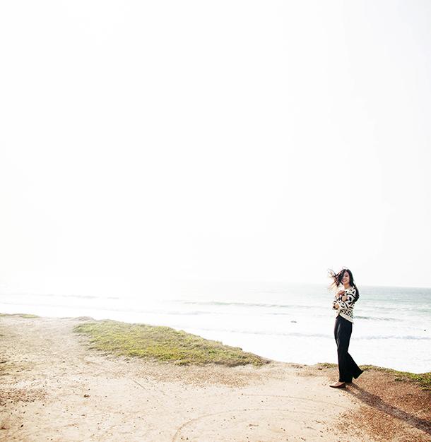 half moon bay hilton, winter beach photos, bay area wedding photographer ,destination wedding