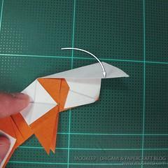 วิธีพับกระดาษเป็นรูปหมี (Origami Bear) 030