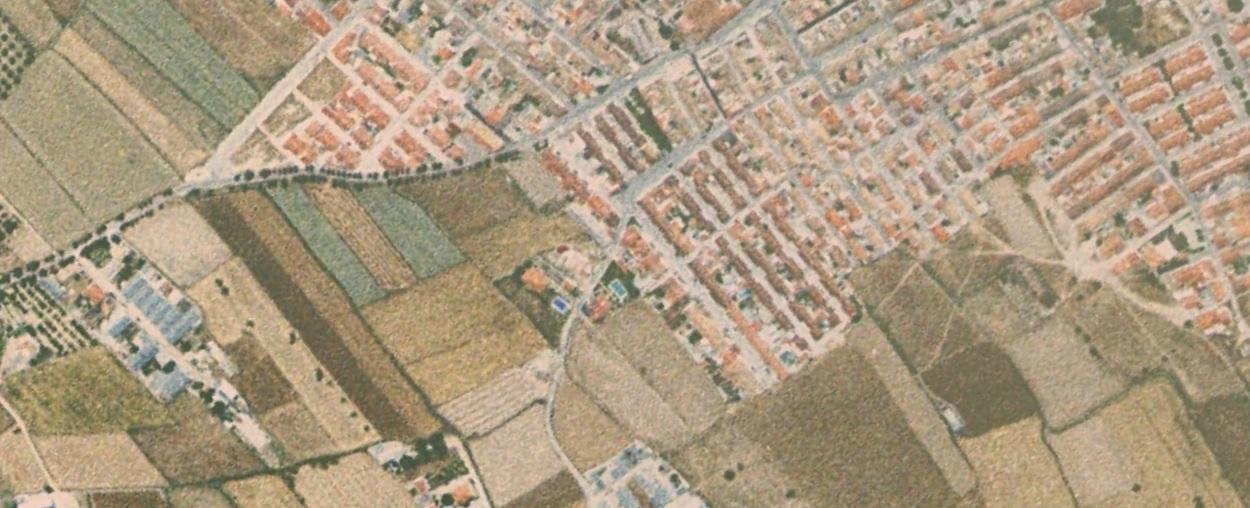 antes, urbanismo, foto aérea, desastre, urbanístico, planeamiento, urbano, construcción,Huéscar, Granada
