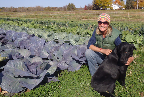 Sarah Woutat founded Uproot Farm because of her love for farming. Photo courtesy of Uproot Farm