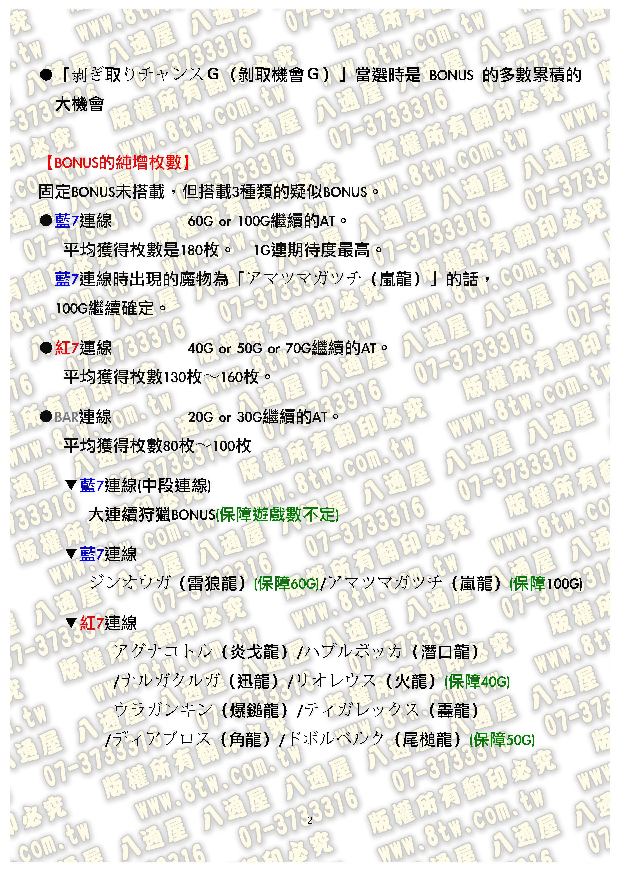 S0202魔物獵人 月下雷鳴 中文版攻略_Page_03
