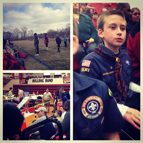 Soccer and Pinewood Derby districts. All about the boy on one of my rare weekends home. #kids #family #scouting